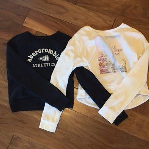 Abercrombie & Fitch Kids Girl's Sweatshirt Bundle